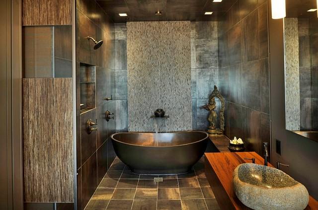 faire de sa salle de bain un spa walldesign. Black Bedroom Furniture Sets. Home Design Ideas