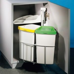 pr server la d co de sa cuisine avec les poubelles encastrables walldesign. Black Bedroom Furniture Sets. Home Design Ideas